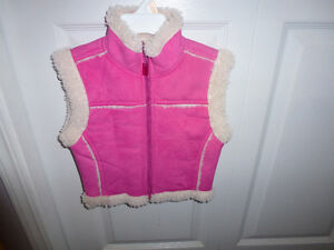 PLEASE MUM FALL VEST SIZE XS (4T)