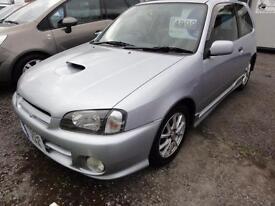 1999 Toyota Starlet Glanza V 1.3 TURBO HIGH GRADE IMPORT BIMTA CERT 3dr