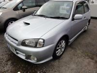 1999 Toyota Starlet Glanza V 1.3 TURBO HIGH GRADE IMPORT BIMTA CERT 3dr