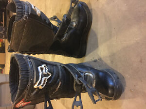 Youth Dirt Bike Boots, Helmet and Pants