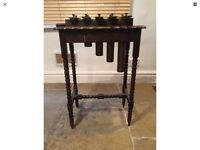 Antique 1850s? Arts & Crafts Xylophone / Dinner Caller