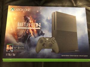 $400 - Xbox One S 1TB Battlefield 1 Edition