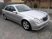 MERCEDES E CLASS E320 CDI AVANTGARDE 2005 Diesel Automatic in Silver