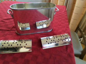 Silver Plated French Style Wine/champagne Cooler