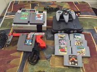 FOR SALE  N64 and NES systems with games