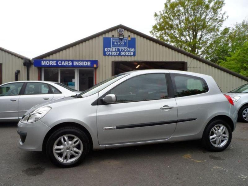 2007 07 RENAULT CLIO 1.1 RIP CURL 16V 3D 75 BHP LOW MILEAGE SERVICE HISTORY