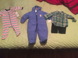 Baby boy clothes new with tags