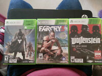 Farcry 3, Wolfenstein The New Order and Destiny