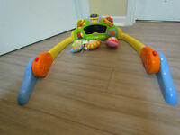 Floor play for infant