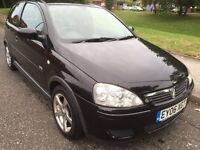 2006 VAUXHLL CORSA DESIGN TWINPORT 1.2 PETROL 3 DOOR LOW MILEAGE FULL 12 MONTHS MOT LOW INSURANCE***