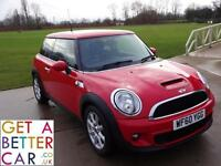 MINI COOPER S 190 BHP - FROM £31 PER WEEK WITH NO DEPOSIT & £500 CREDITBACK