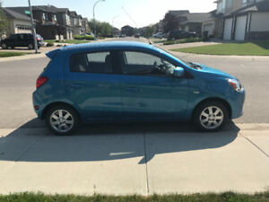 MITSUBISHI MIRAGE SE HATCHBACK 2014 FOR SALE!!!