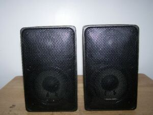 Realistic Minimus-7 40-2030C Bookshelf Speakers
