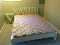 Free bed bed frame and night stand
