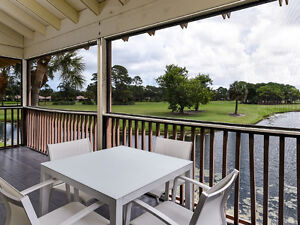 Golf Course & Water Views with Pool in Palm Beach Gardens
