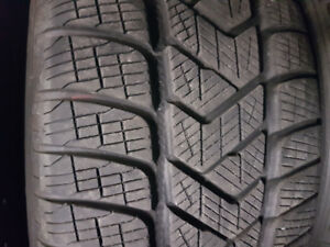 LIKE NEW 225 55 19 PIRELLI WINTER TIRES