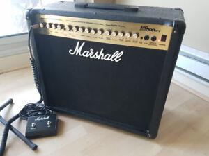 """Marshall MG100DFX - 100W 1x12"""" Guitar Combo Amp"""