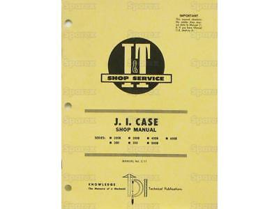 Case 200 300 350 400 500 600 Tractor Shop Service Repair Manual Book It C11 New