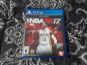 PS4 nba2k17 video game