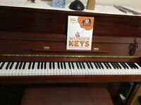 Preschool Piano in Falmouth with a Registered Piano Teacher!