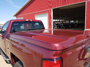 Jewel Red Tonneau Cover
