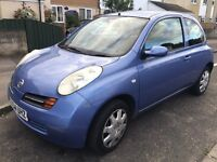 Cheap 2004 Nissan Micra 1.2 and 6month MOT (SOLD)