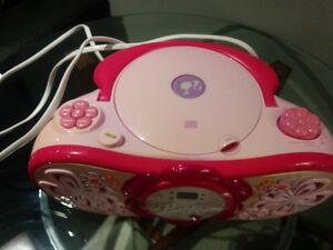 Unique princess cd player and radio, Plus Disney tv