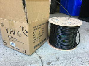 CAT6 outdoor cable approx 400 ft