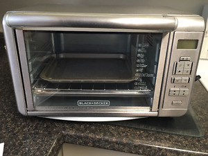New DINING - IN Black and Decker Digital Countertop Oven