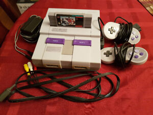 Super Nintendo - Complete & Working