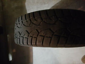 235/70/R60  attic winter tires and steel rim-came of ford escape