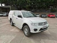 Mitsubishi L200 DOUBLE CAB DI-D 4 LIFE 4WD 134BHP DIESEL MANUAL WHITE (2015) for sale  East End, Glasgow