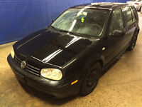 2003 Volkswagen VW Golf Hatchback