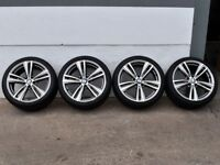 """19"""" BMW style 442 M Alloy Wheels & Tyres will fit a F30 and F31 3 Series"""