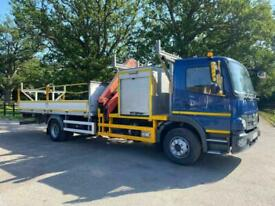 Mercedes-Benz ATEGO 1624 MANUAL GEARBOX PALFINGER CRANE FITTED