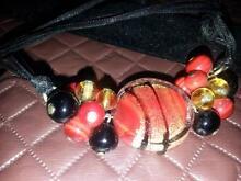 Millefiore Venetian necklace Glass venice Valentine Lake Macquarie Area Preview