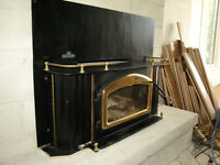 Wood Stove Fireplace Insert Napoleon model NFI-Deluxe