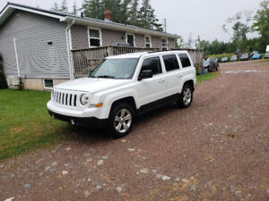2014 Jeep Patriot 4x4.