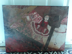 Canvas Accent Painting-Reduced to $5.00