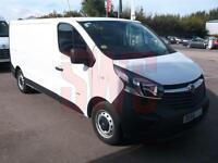 2014 Vauxhall Vivaro 1.6CDTi 2900 L2H1 DAMAGED REPAIRABLE SALVAGE