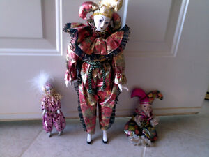 PORCELAINE CLOWNS Cornwall Ontario image 1