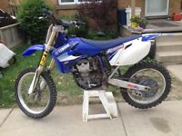 2005 yzf 450 trade for race quad or 3200