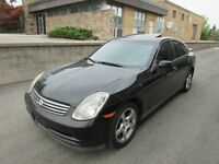 ☆ 2003 INFINITI G35 ☆ *LEATHER,SUNROOF,NAVI,MECHANIC SPECIAL*