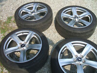 4 factory 19 inch mustang GT rims