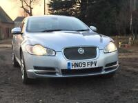 Jaguar XF 3.0TD V6 auto 2010MY Luxury Silver /Black Leather FSH