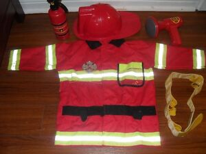 fireman suit and acc.