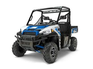 2017 Polaris RANGER XP 1000 EPS White Lighning