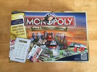 Electronic Banking Monopoly Board Game
