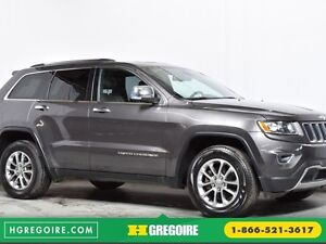 2014 Jeep Grand Cherokee Limited AWD, NAVIGATION, TOIT OUVRANT