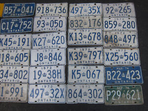 COOL OLD LICENSE PLATE FOR SHOP, MAN CAVE OR SIGN DECOR Only $10 Kitchener / Waterloo Kitchener Area image 6